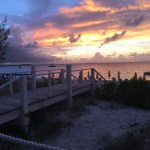 The Sunset at Asu on the Beach in Turks and Caicos | The Rose Table