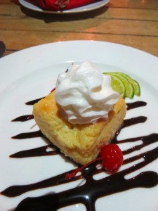 Key Lime Pie at Salt Bar and Grill at Blue Haven Resort | The Rose Table