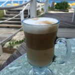 Cappuccino at Alexandra Resort's Asu on the Beach | The Rose Table