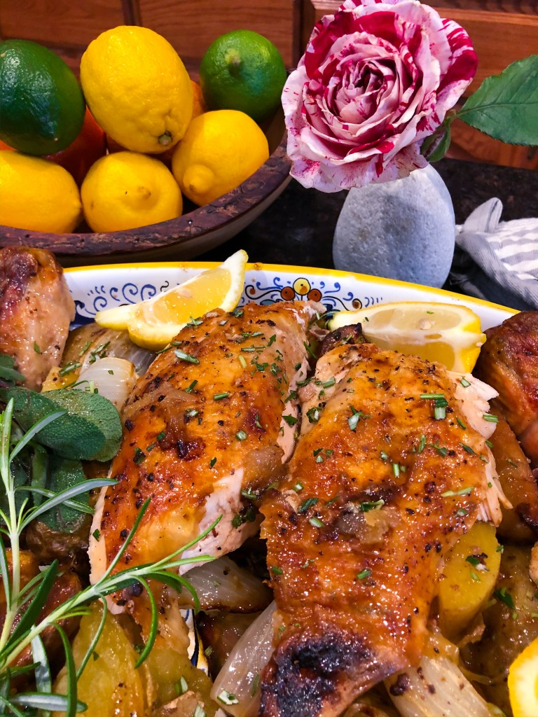 The Rose Table's Roasted Chicken