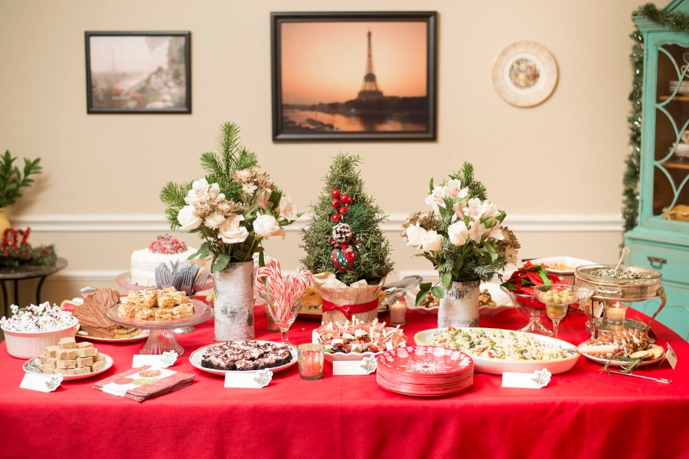 Christmas Cocktail Party Menu | The Rose Table