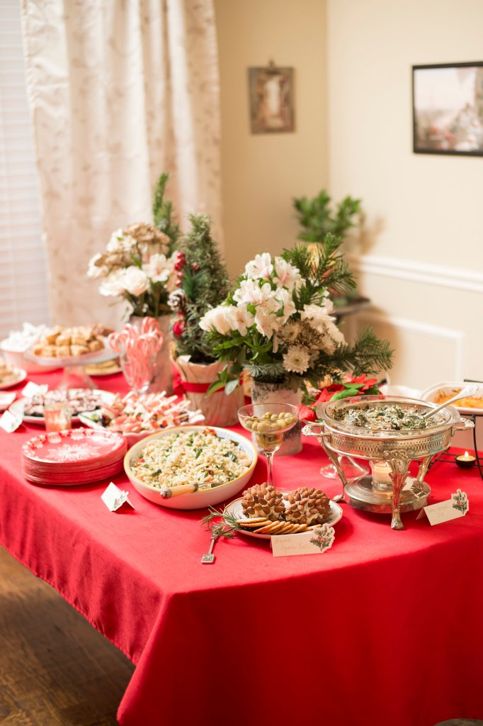 Christmas Cocktail Party Ideas   The Rose Table