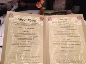 Napa Rose Disneyland Review | The Rose Table