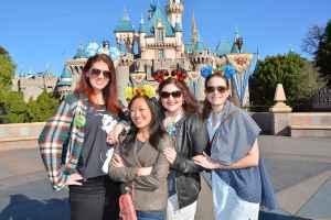 Birthday trip to Disneyland