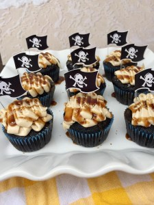 Captain Jack Sparrow Cupcakes   The Rose Table