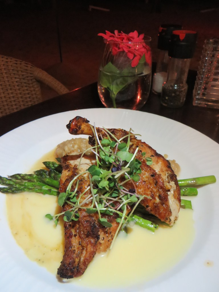 Frenched Airline Chicken at The Buccaneer | The Rose Table