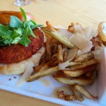 Salmon Burger   The Rose Table