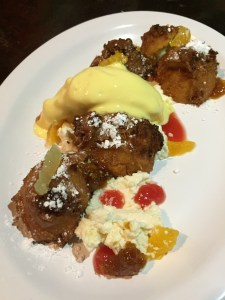 Johnny Cakes with Mango Ice Cream | The Rose Table