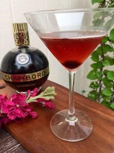 Chambord Manhattan | The Rose Table
