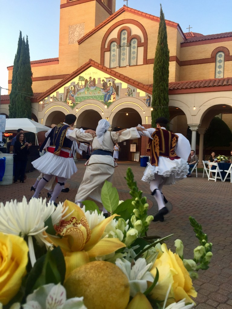 Dancing at Greek Food Festival of Dallas