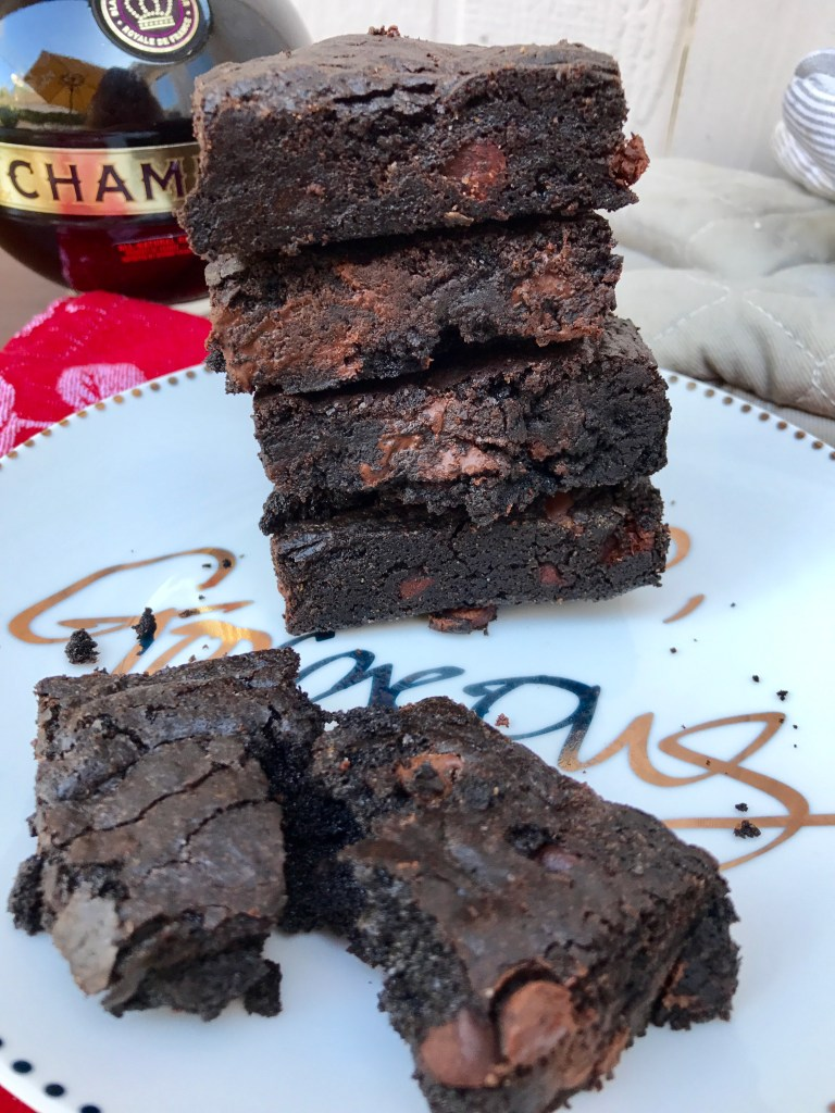 Chambord Brownies   The Rose Table