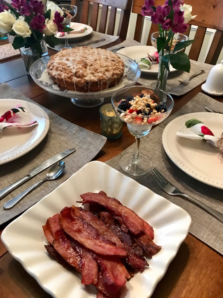 Maple-Glazed Bacon | The Rose Table