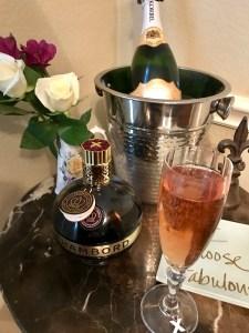 Chambord Korbel Cocktail