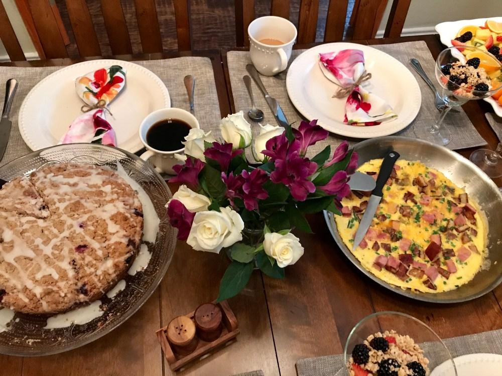 Fiori di SiciliaBlueberry Coffeecake | The Rose Table