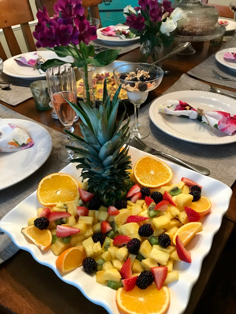 Tropical Fruit Platter | The Rose Table