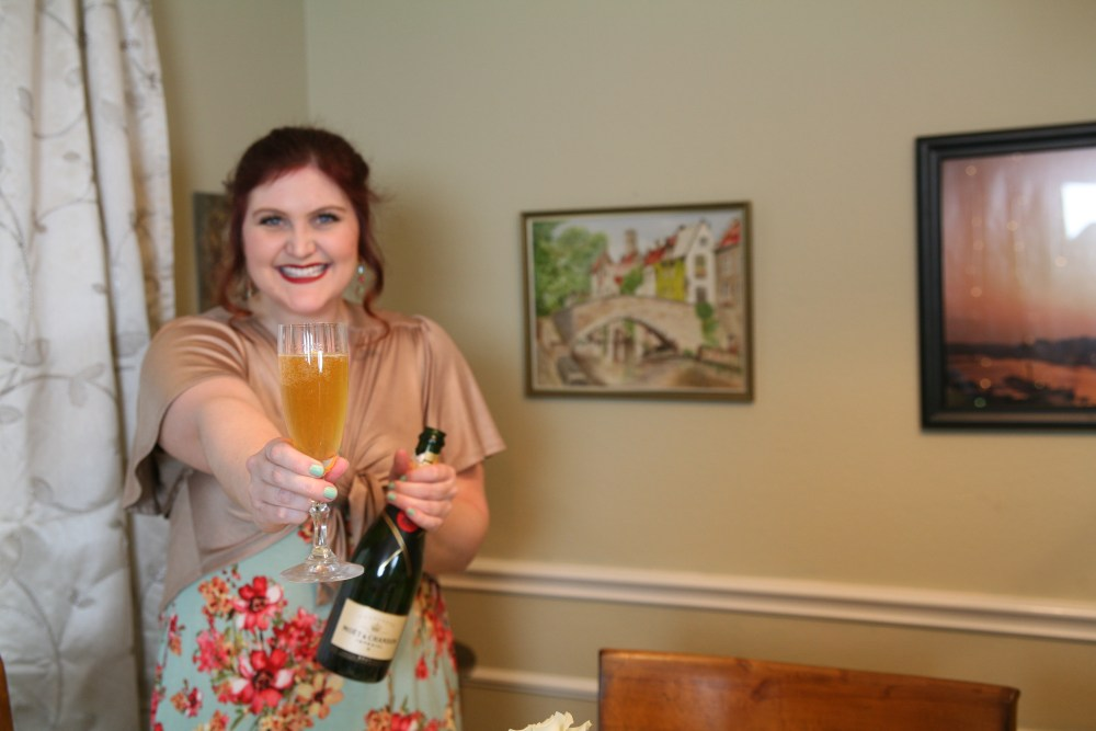 French 75 Recipe | The Rose Table