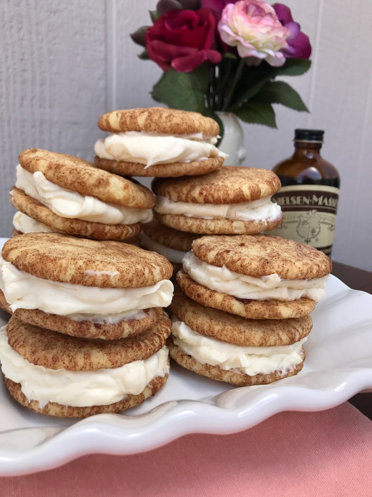 Snickerdoodle Sandwich Recipe with Cream Cheese   The Rose Table