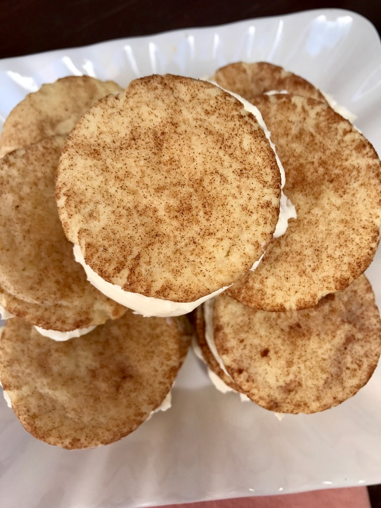 Snickerdoodle Sandwich Recipe with Cream Cheese | The Rose Table