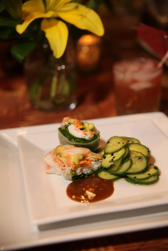 Shrimp Spring Rolls | The Rose Table