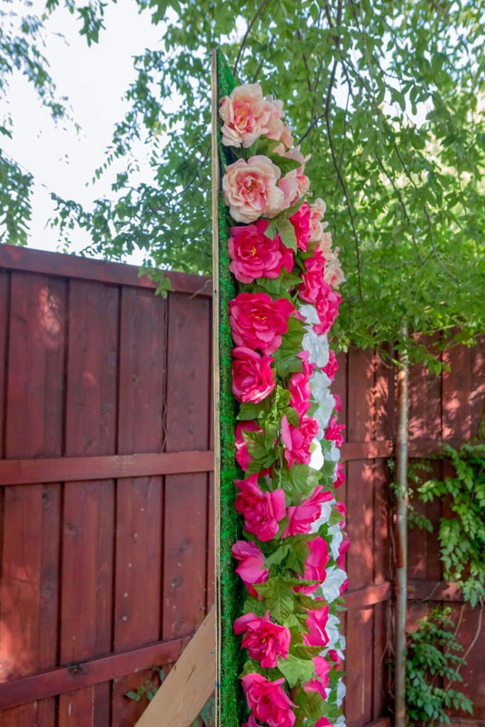 How to Build a Flower Wall