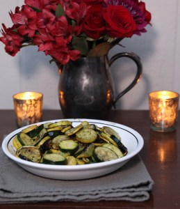 Grilled Zucchini | The Rose Table