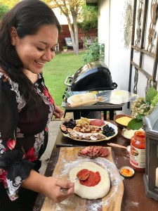 How to Grill Pizza | The Rose Table