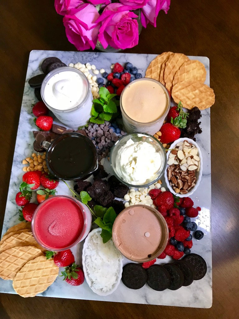 Ice Cream Board | The Rose Table