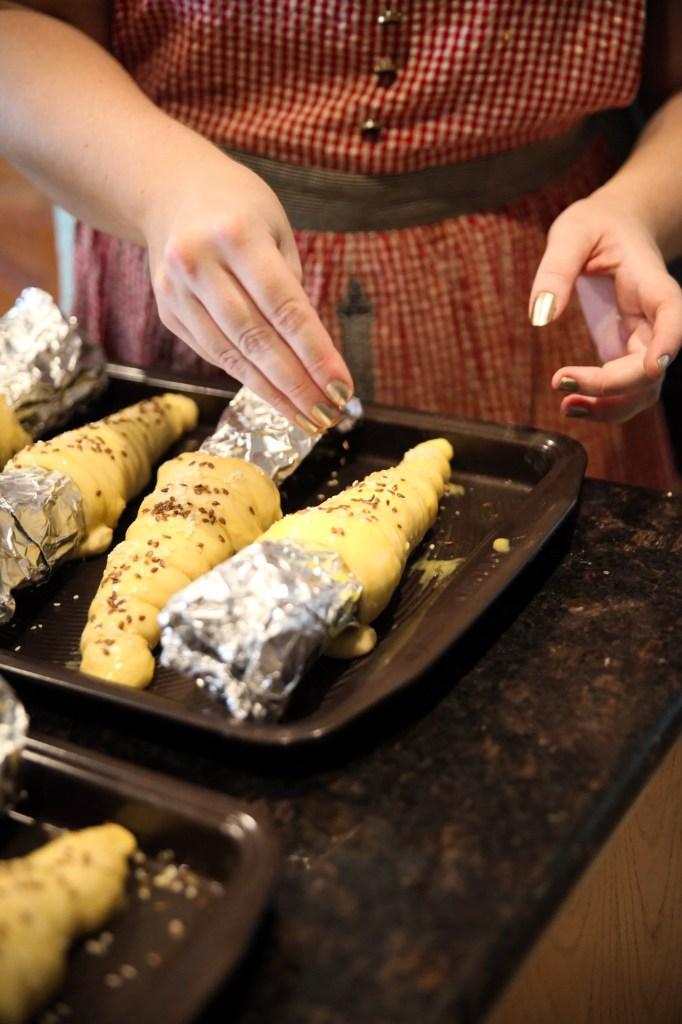 Disneyland Bread Cones Recipe