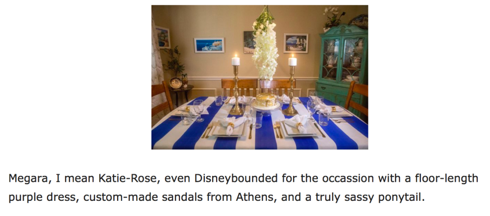 Disney Dinner Party for Adults
