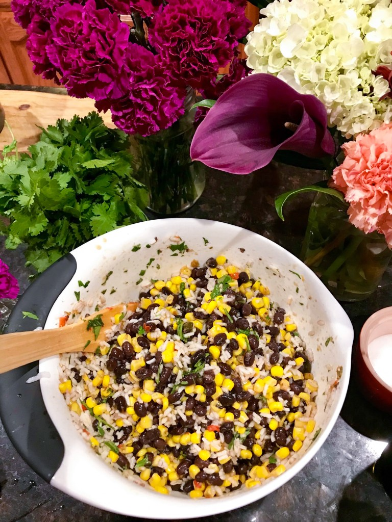 Corn and Black Bean Salad, Easy Mexican Recipes