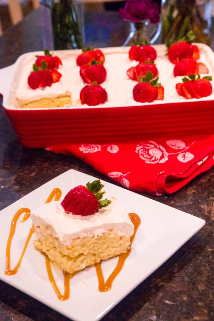 Best Tres Leches Recipe with Strawberries