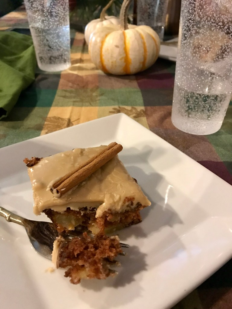 Caramel Apple Cake | The Rose Table