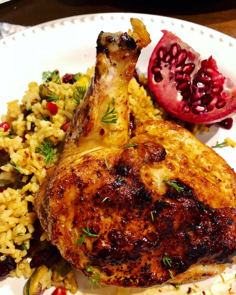 Persian Chicken   The Rose Table