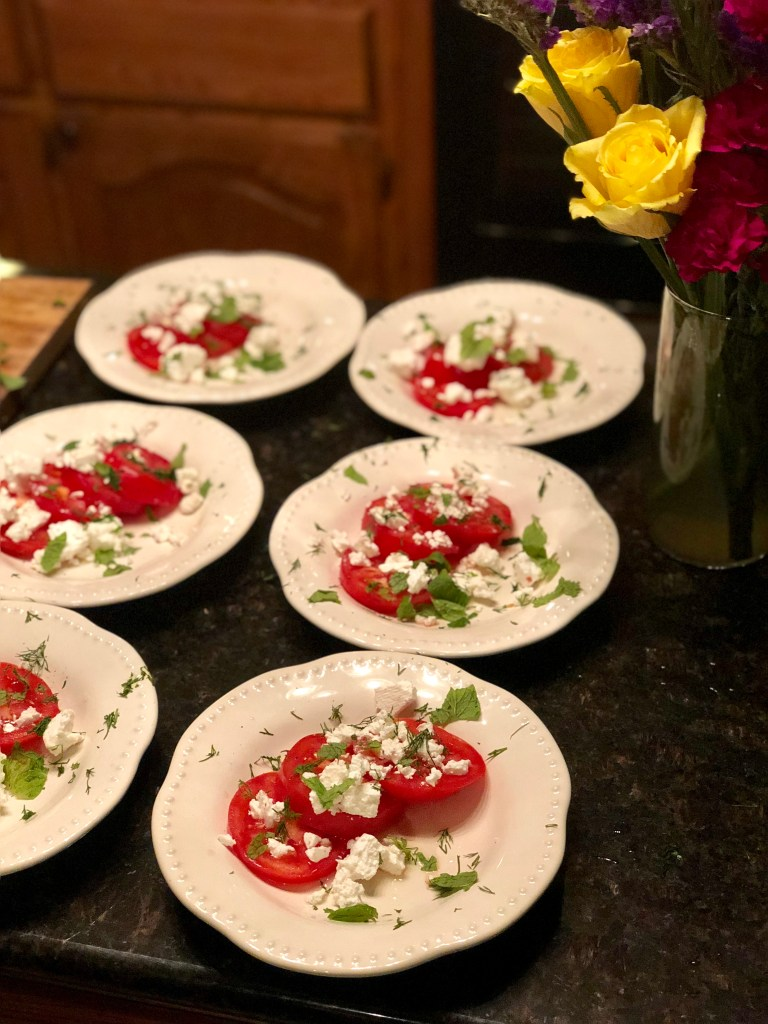 Panir Salad | The Rose Table