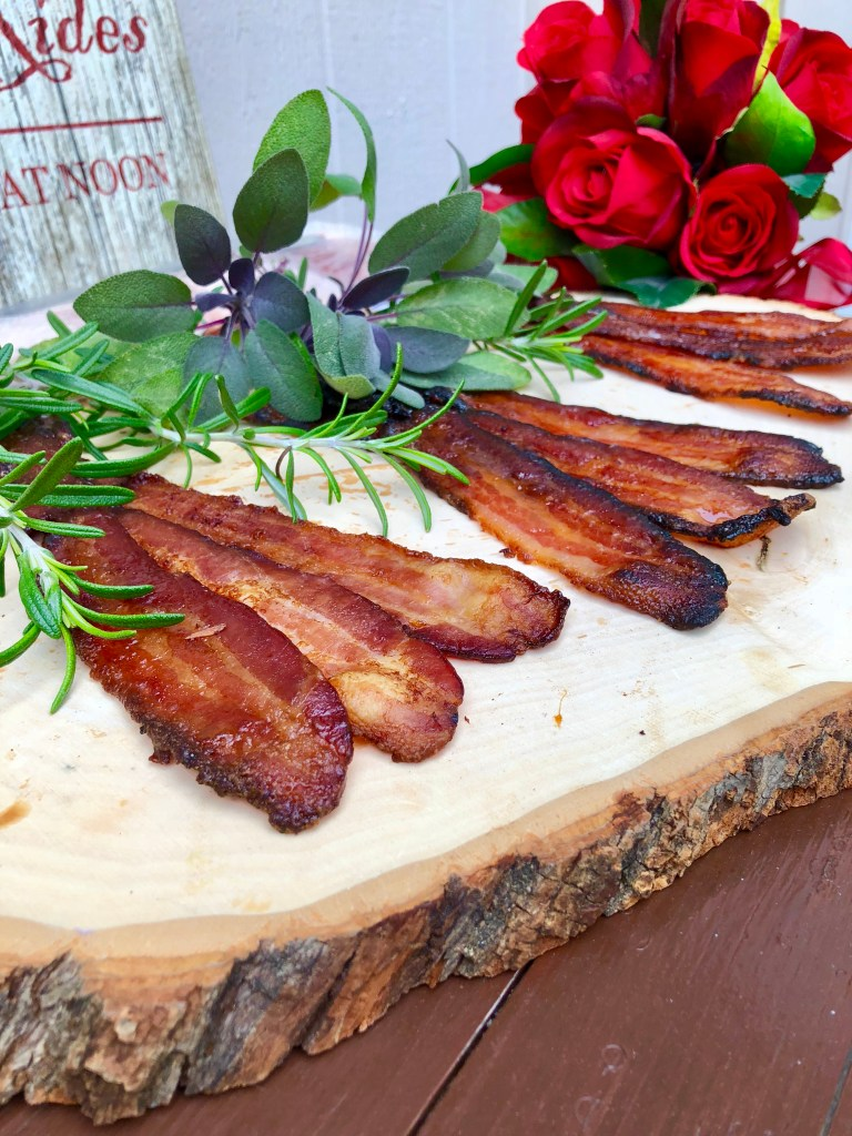 Bacon FlightBest Party Appetizers | The Rose Table
