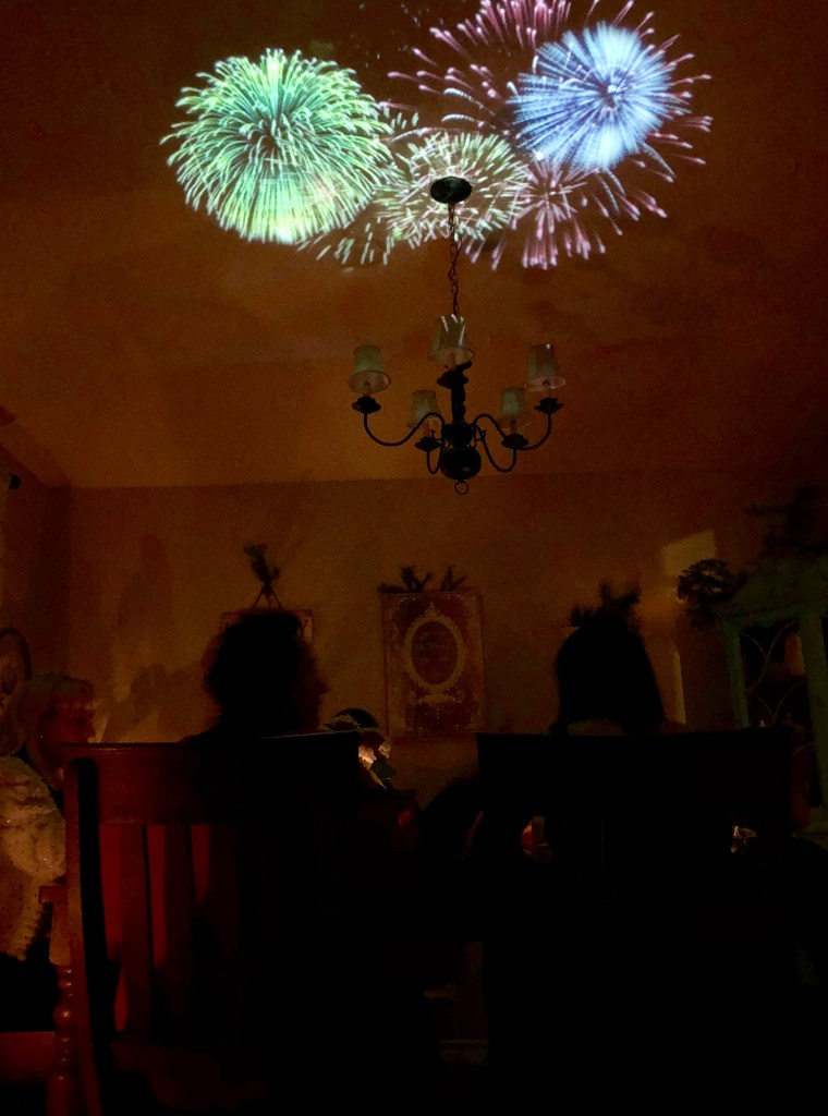 How to Project Fireworks on Your Ceiling with Atmos FX | The Rose Table