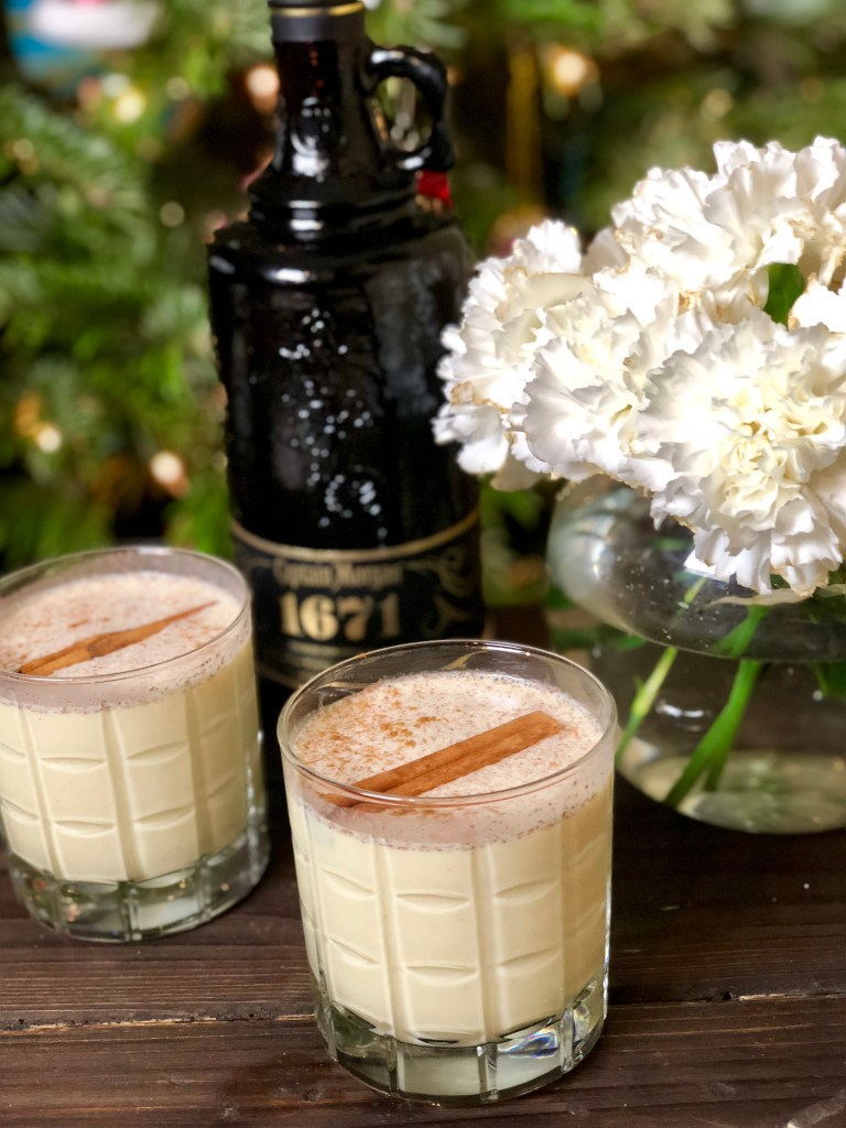 Pirate Eggnog, Captain Morgan 1671, Eggnog with Rum Recipe | The Rose Table