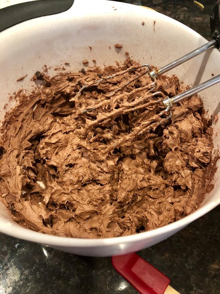 Dark Chocolate Bûche de Noël | The Rose Table