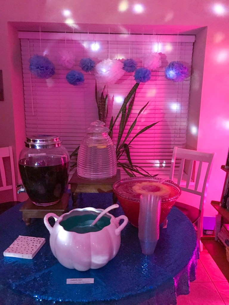 Cinderella Ball Drink Table | The Rose Table
