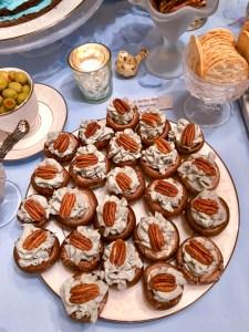 Bleu Cheese No Cook Stuffed Mushrooms | The Rose Table