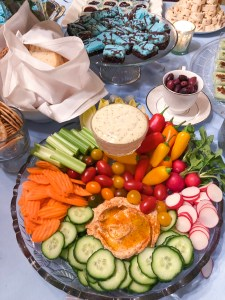 Veggie Platter for a Party   The Rose Table
