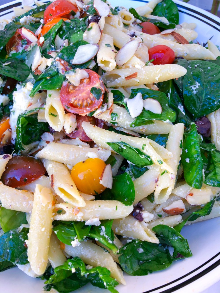 The Best Healthy Pasta Salad   the Rose Table