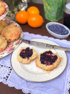 Lemon Lavender Buttermilk Scones, Disney Mary Poppins Recipe and Party Ideas   The Rose Table