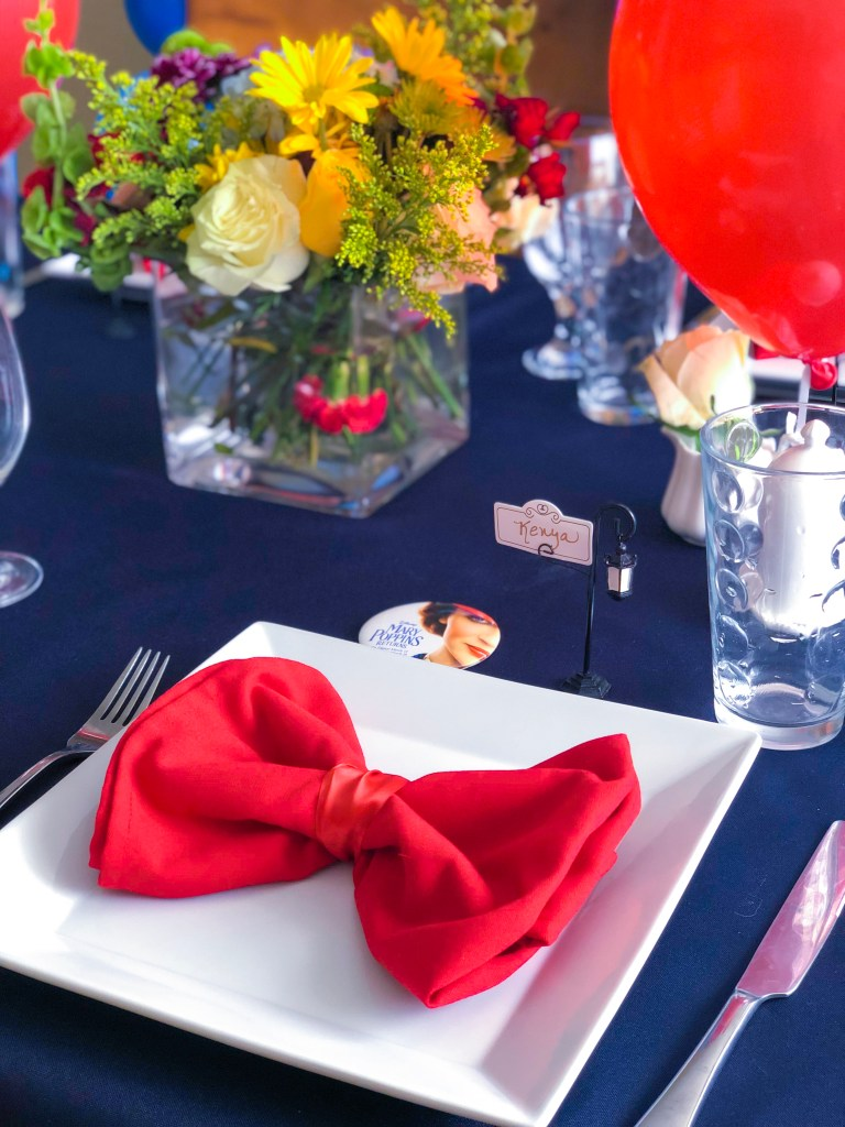 Disney Mary Poppin Returns Party, Recipes | The Rose Table