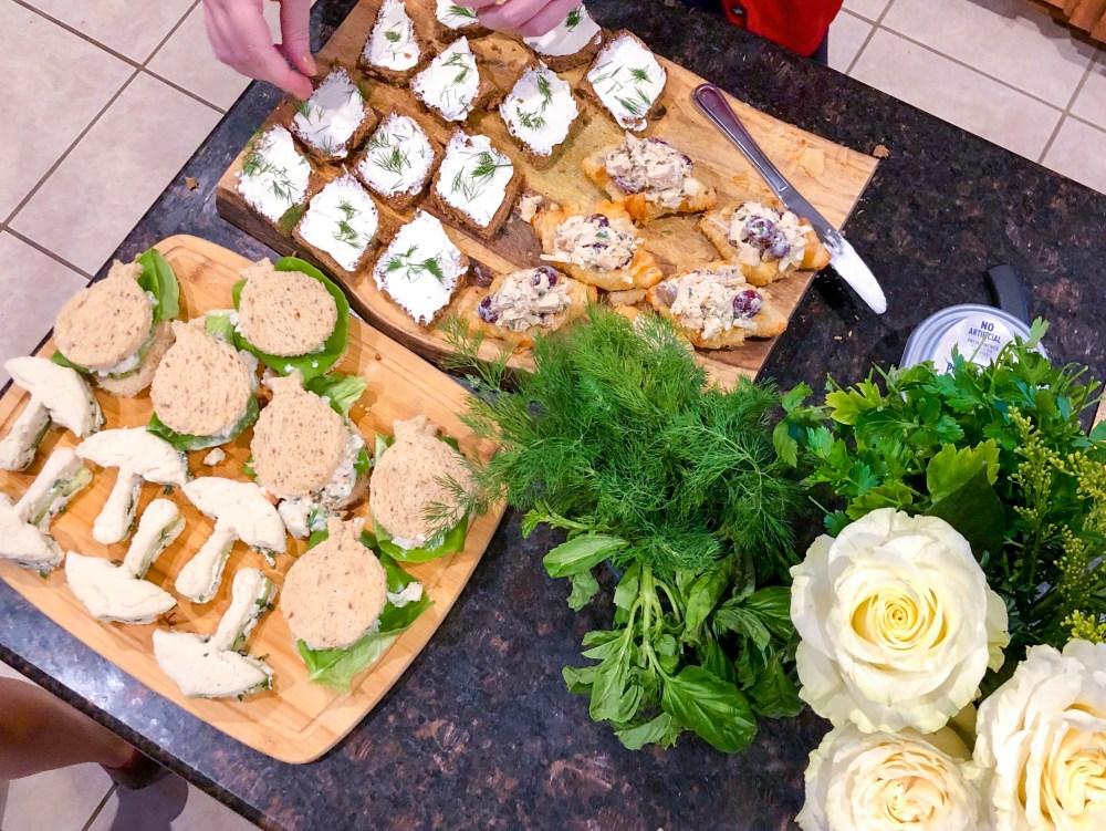Tea Sandwich Flight, Best Tea Sandwich Recipes | The Rose Table
