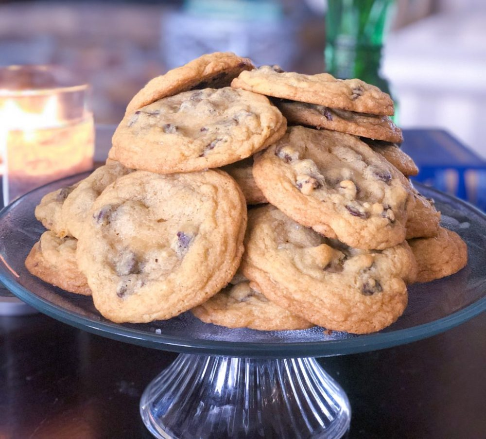 The BestChocolate Chip Cookie Recipe, Dark Chocolate Sea Salt | The Rose Table