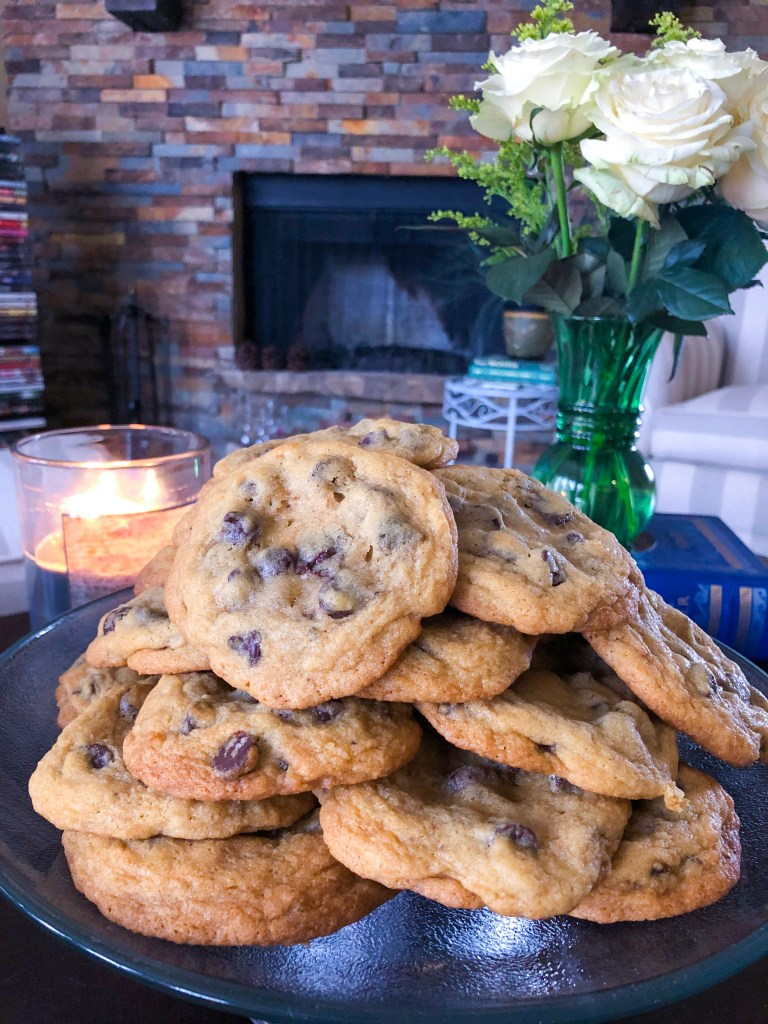 The Best Chocolate Chip Cookie Recipe, Dark Chocolate Sea Salt | The Rose Table