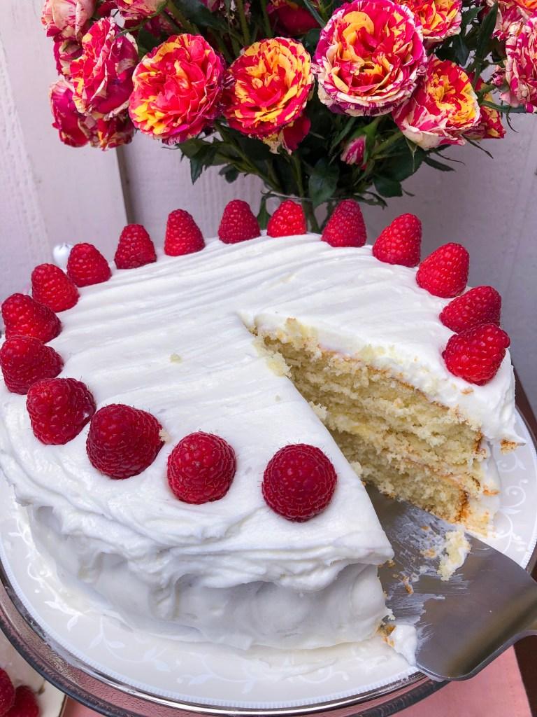Amaretto Cake | The Rose Table