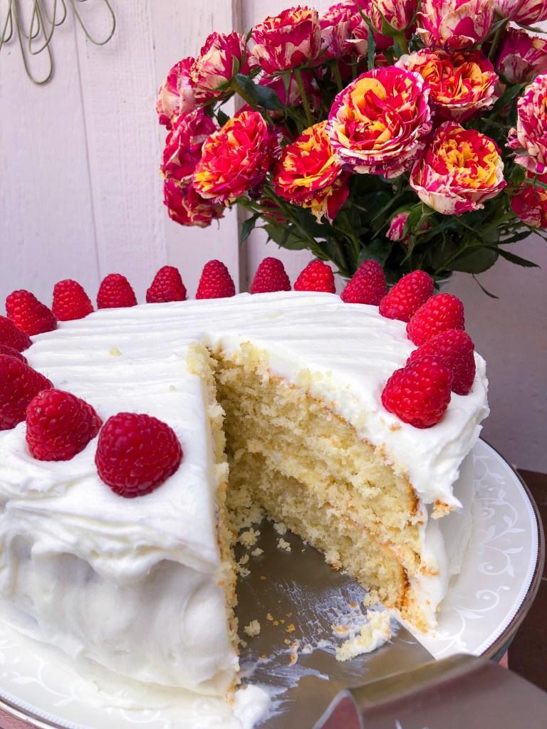 Amaretto Cake   The Rose Table