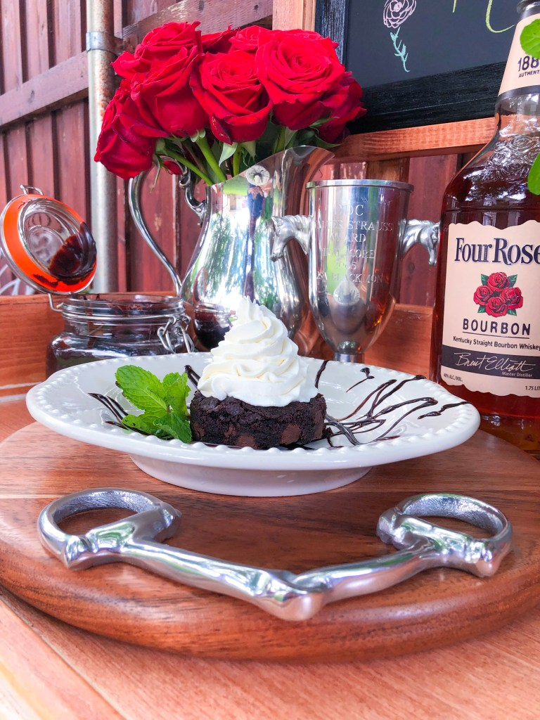 Mint Julep Brownies, Kentucky Derby Party Recipes | The Rose Table
